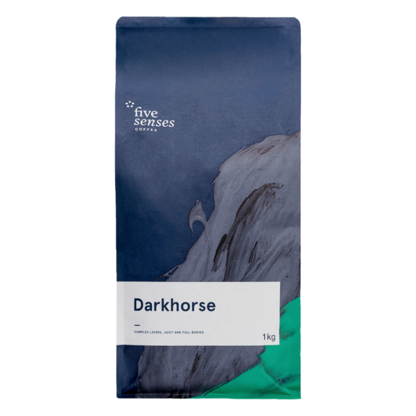 Five Senses Dark Horse Coffee Beans-1kg-0
